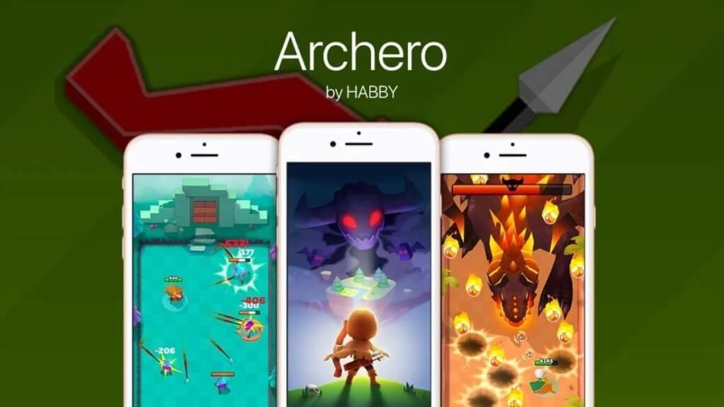 Уникальный геймплей Archero