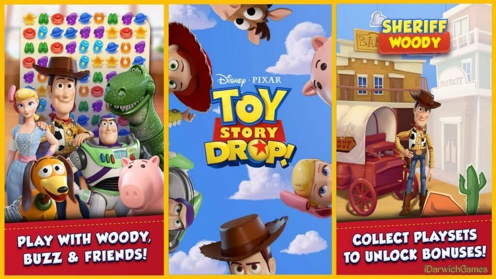 История игрушек. Три в ряд
