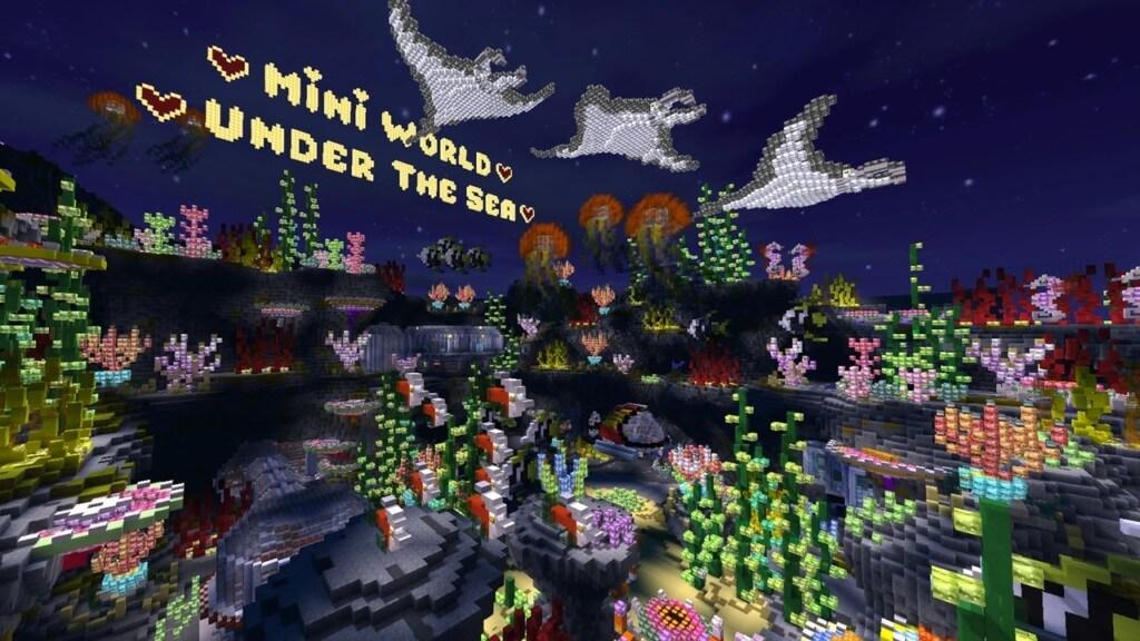 Особенности Mini World: Block Art