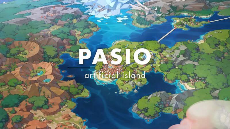 Остров Пасио из Pokemon Masters
