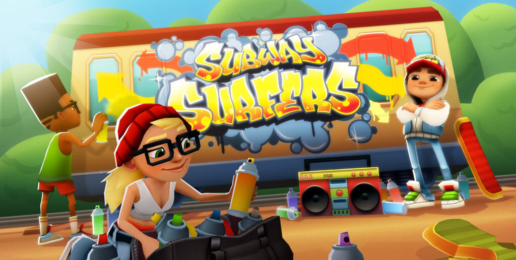 Бонусы в Subway Surfers
