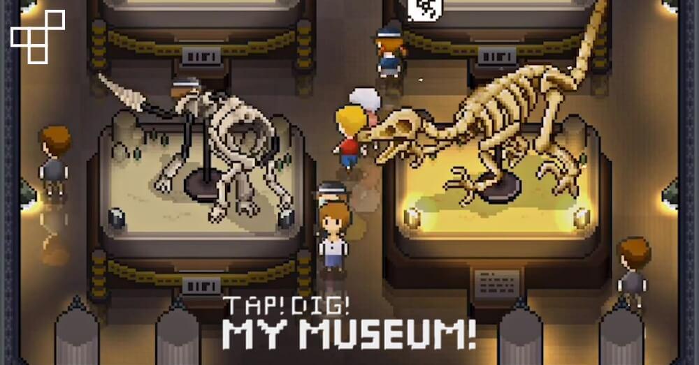 Скриншот TAP! DIG! MY MUSEUM!