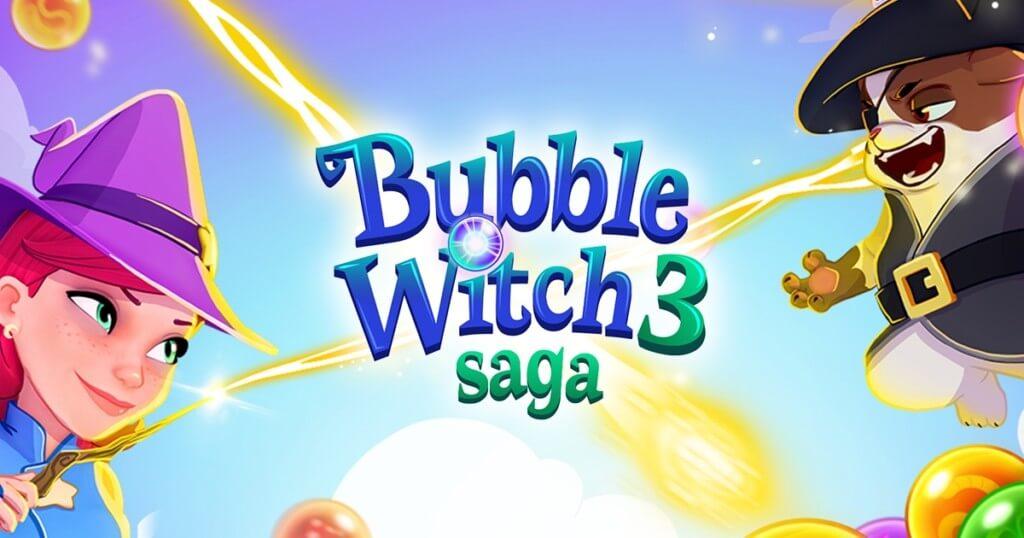 История ведьмы Bubble Witch 3 Saga