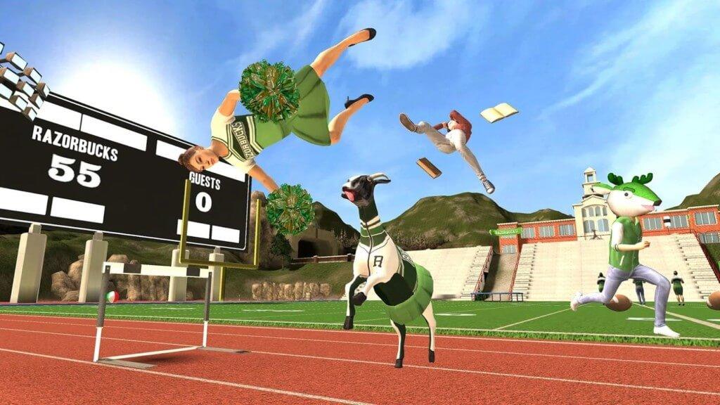 Подробнее про игру Goat Simulator