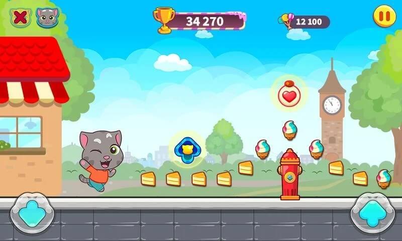 Сюжет игры Говорящий Том за конфетами