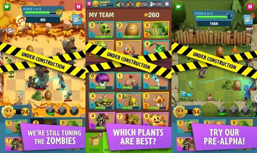 Механика игры Plants vs. Zombies 3