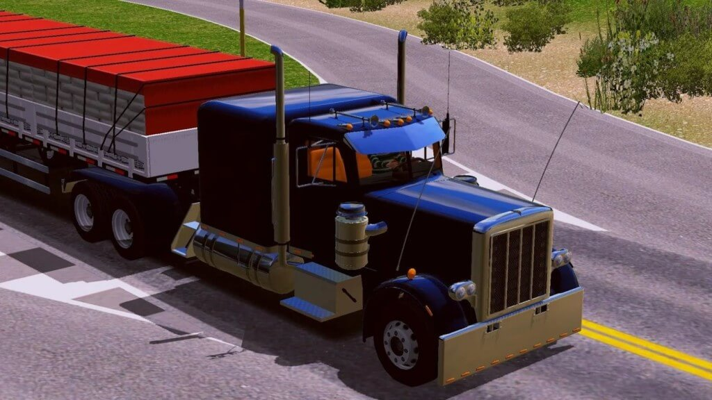 Игровой процесс в World Truck Driving Simulator
