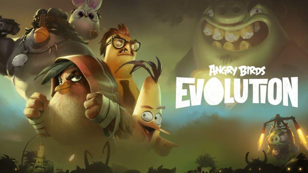 Механика игры Angry Birds Evolution