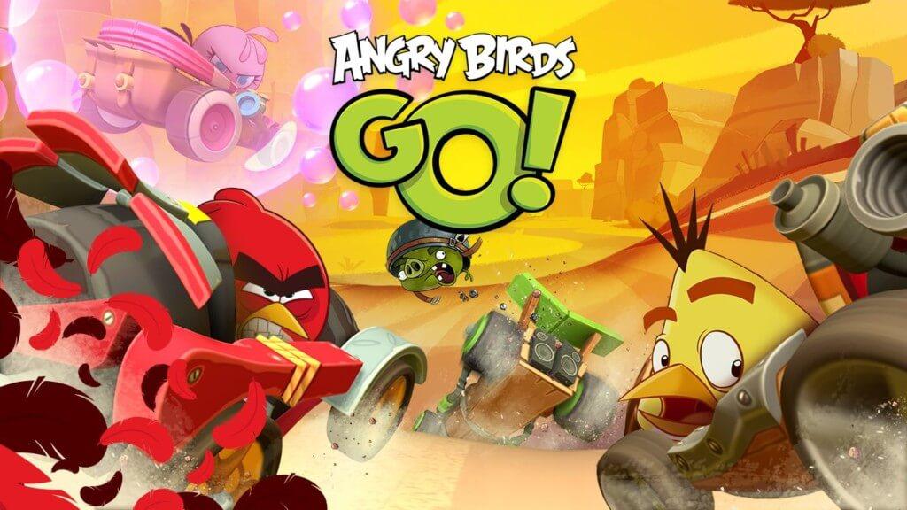 Механика игры Angry Birds Go