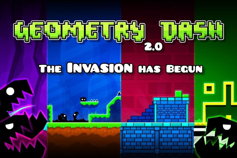 Сюжет игры Geometry Dash на андроид