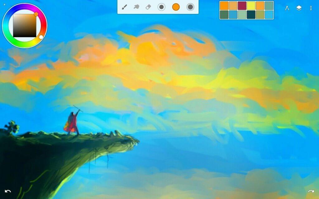 Infinite Painter - полезные функции, которые пригодятся