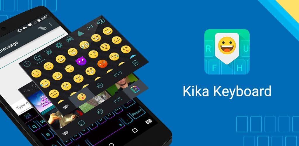 Скриншот Клавиатура Kika