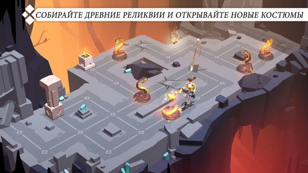 Сюжет игры Lara Croft GO