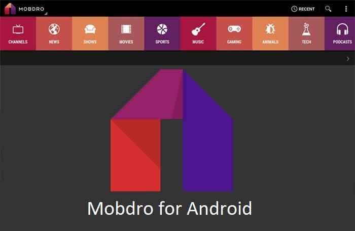 Что такое Mobdro?