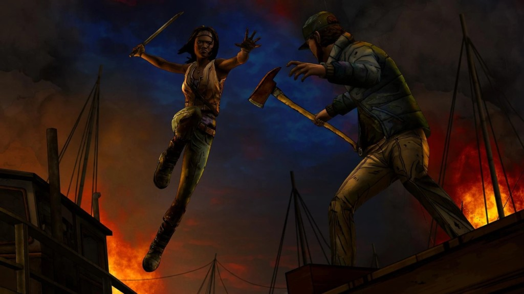 Подробнее про сюжет The Walking Dead Michonne