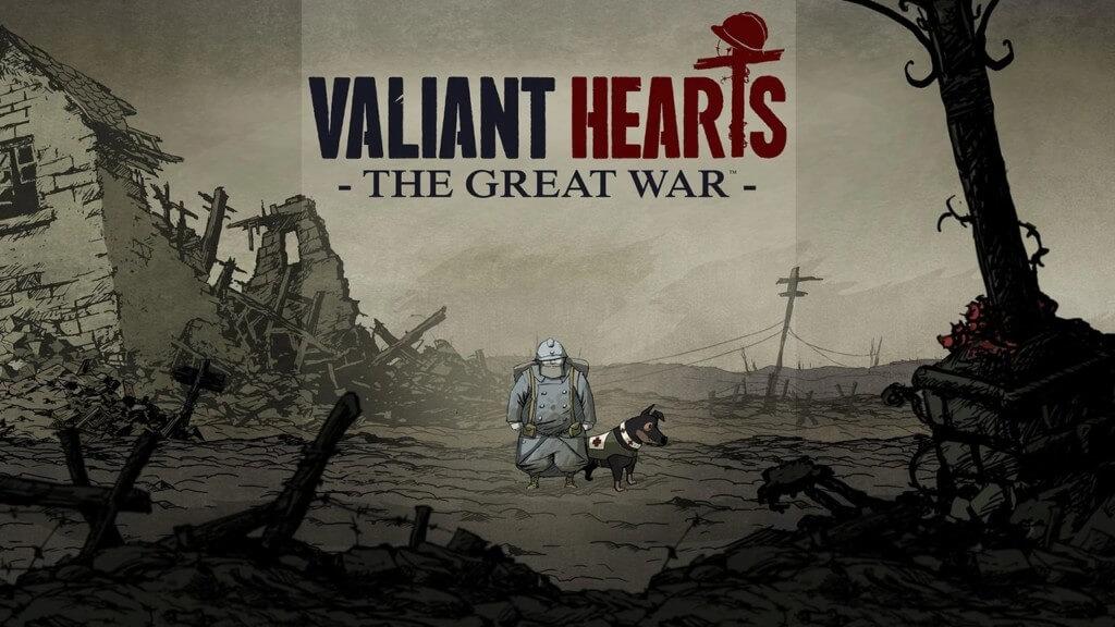 Сюжет игры Valiant Hearts The Great War на андроид