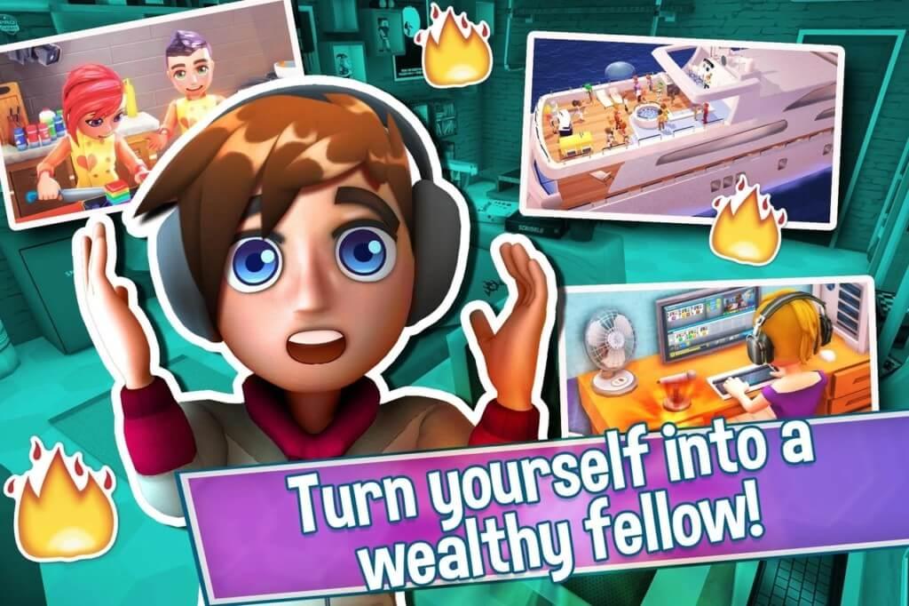 Суть игры Youtubers Life на андроид