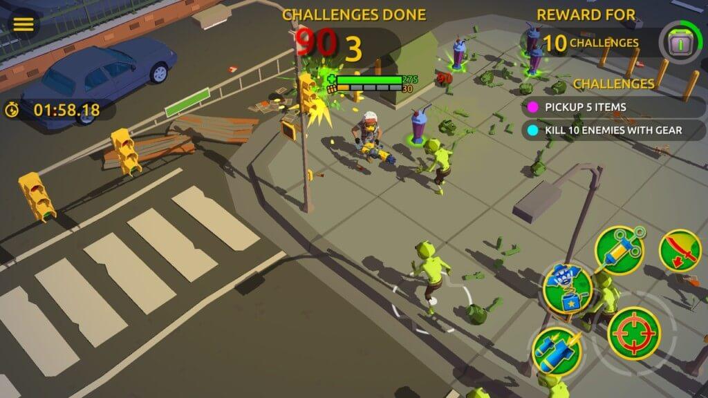 Особенности игры Zombie Blast Crew