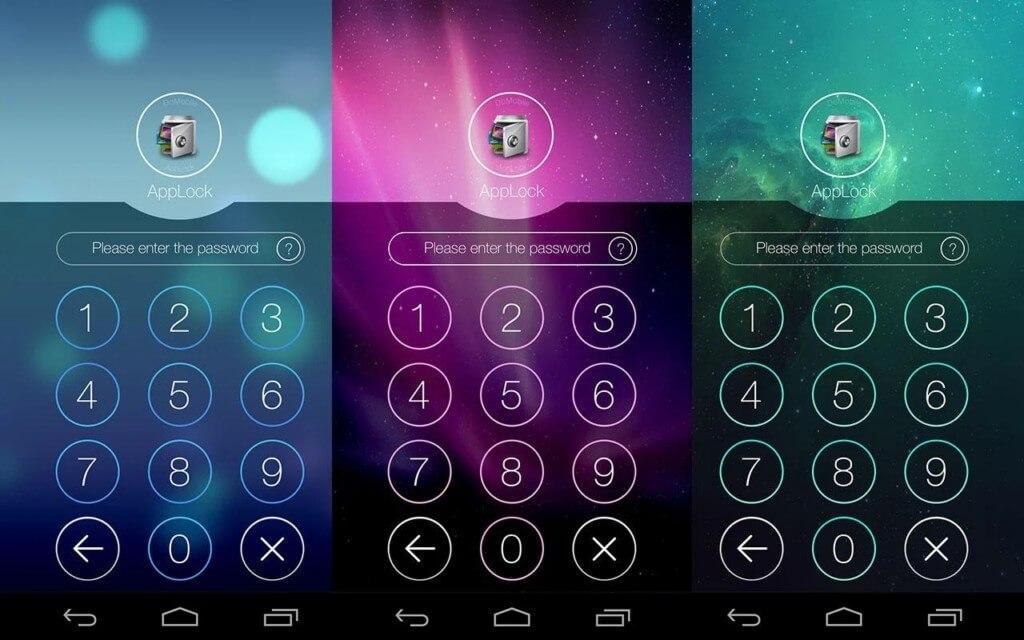 Ключевые функции Applock