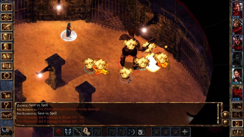 Основные особенности игры Baldurs Gate Enhanced Edition на андроид