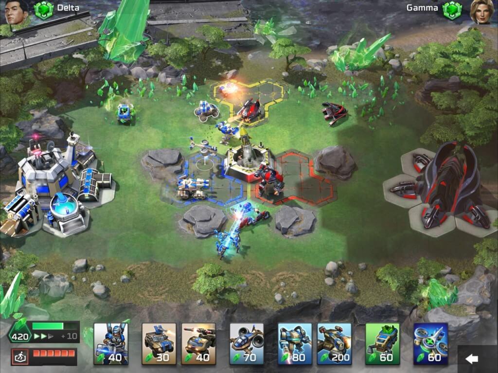 Механика игры Command & Conquer: Rivals