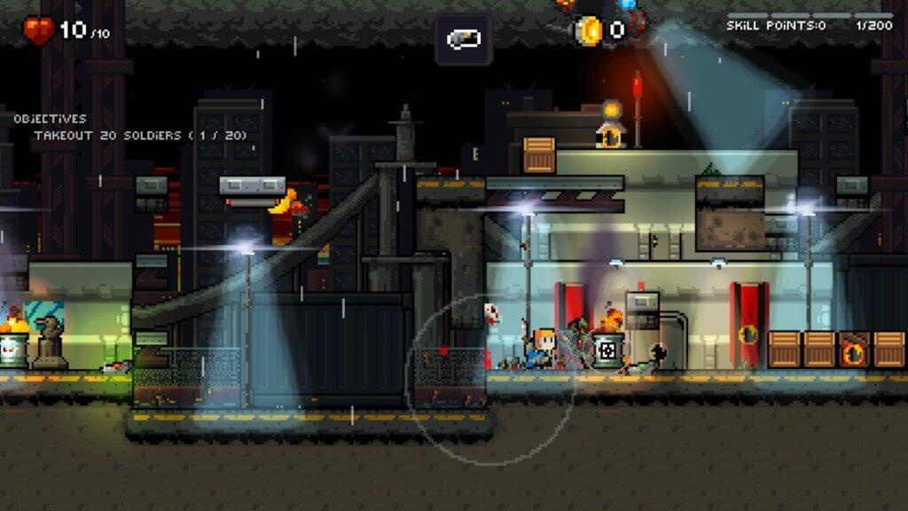 Механика игры Gunslugs Rogue Tactics