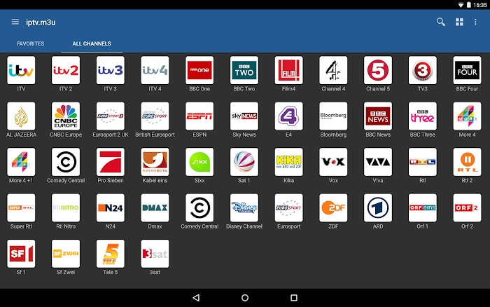 IPTV Pro для андроид - лучшее потоковое приложение