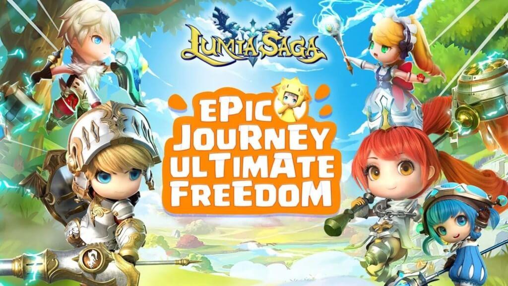 Игровой процесс в Lumia Saga