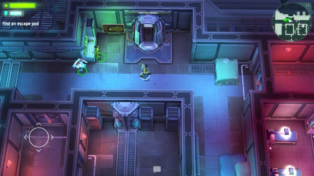 История игры Space Marshals на андроид