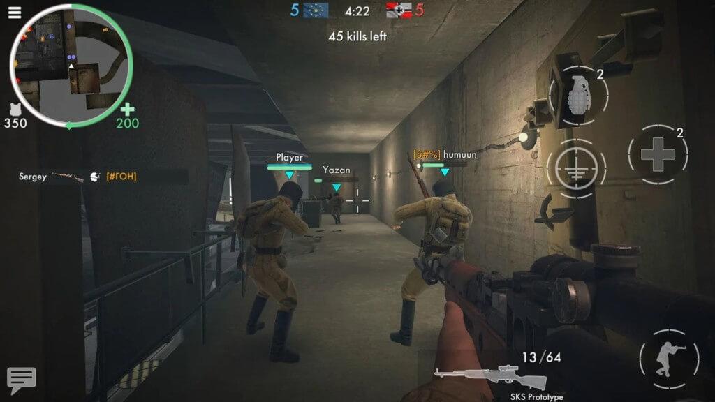 Механика игры World War Heroes