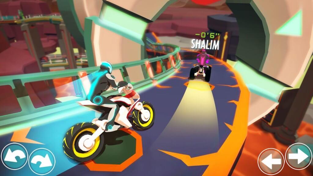 Механика игры Gravity Rider