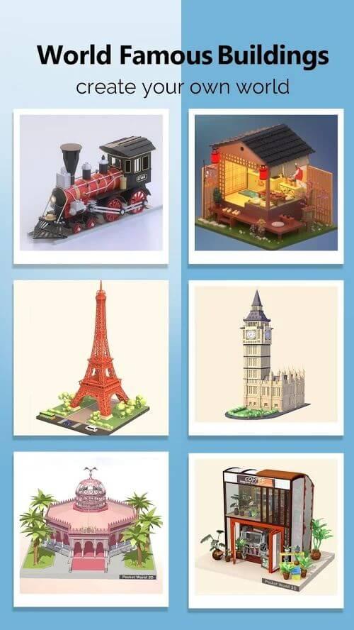 Pocket World 3D - веселая головоломка