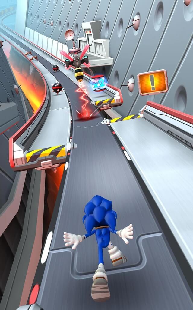 Сюжет игры Sonic Dash 2 Sonic Boom