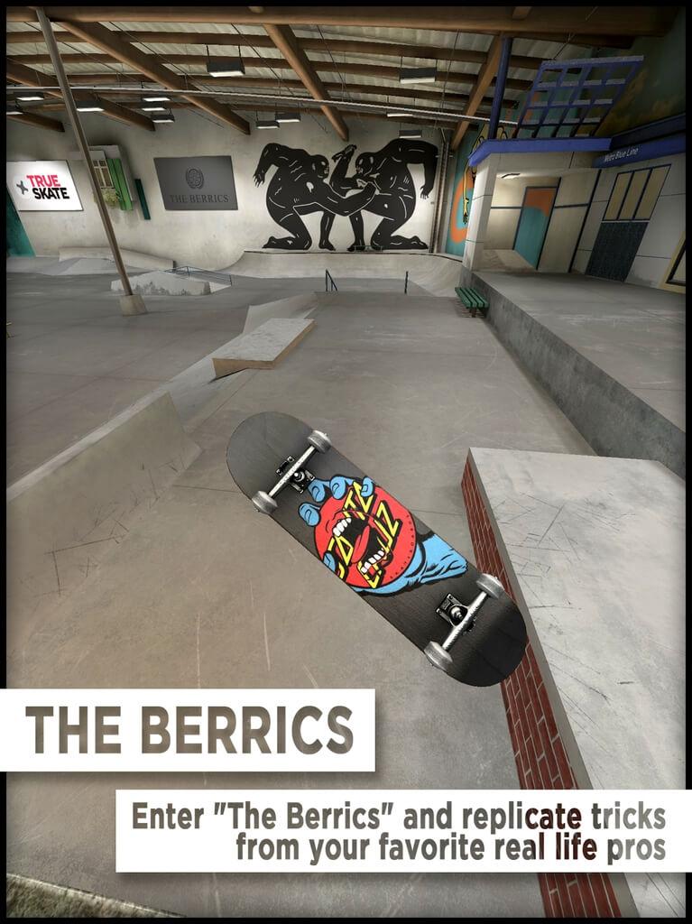 Механика игры True Skate