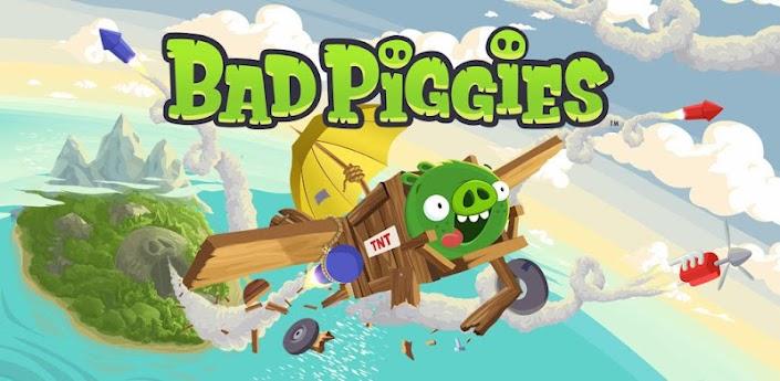 Подробнее про игру Bad Piggies на андроид