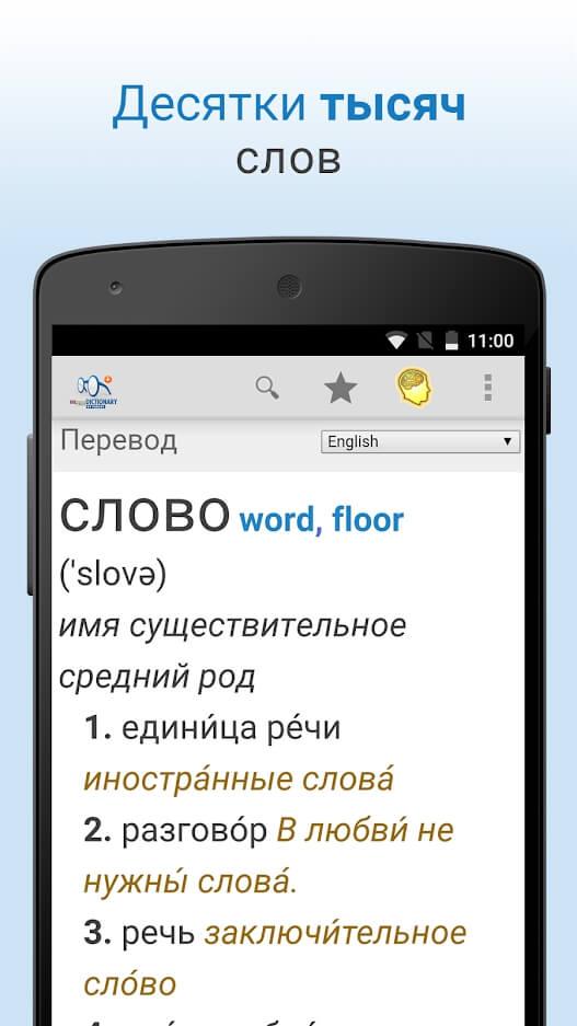 Начало работы с Dictionary Pro