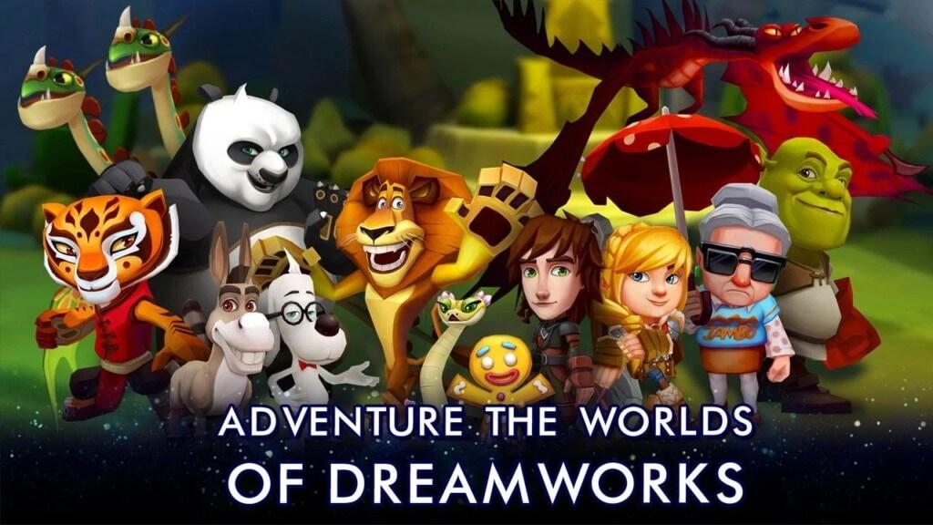 История игры DreamWorks Universe of Legends