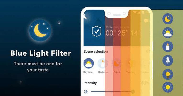 Фильтр синего света - отличное приложение