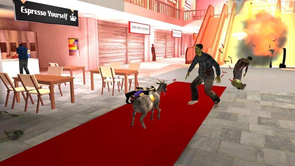 Подробнее про игру Goat Simulator GoatZ