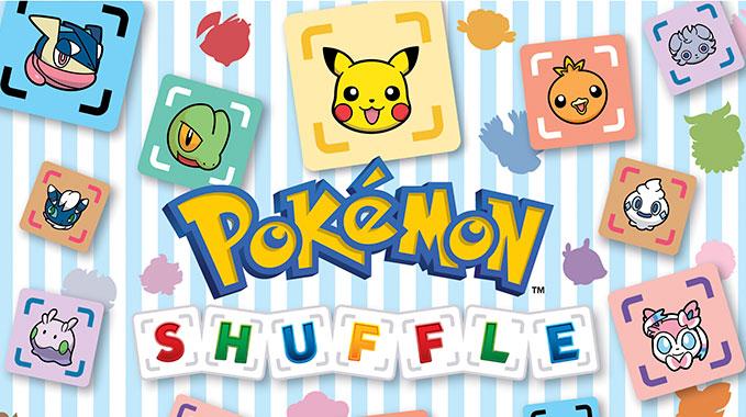 Механика игры Pokemon Shuffle Mobile