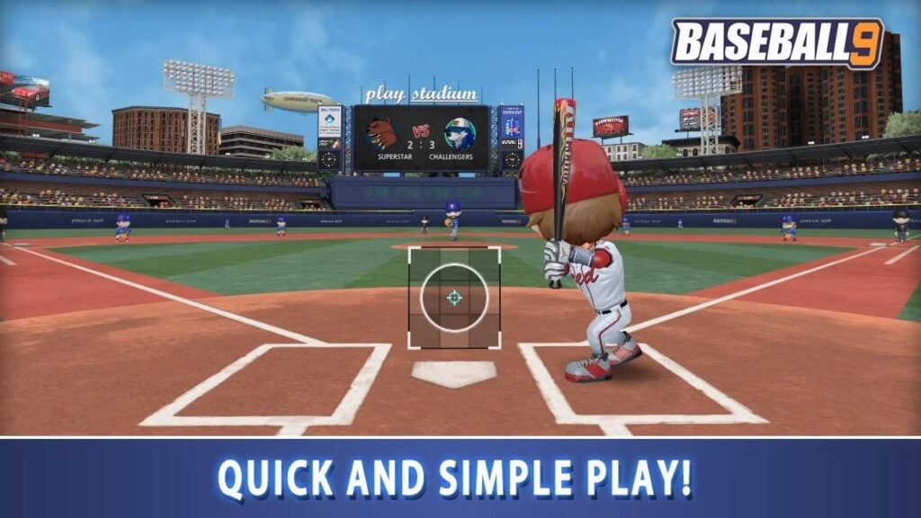 Подробнее про игру BASEBALL 9 на андроид