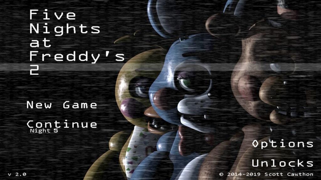 Сюжет игры Five Nights at Freddys 2
