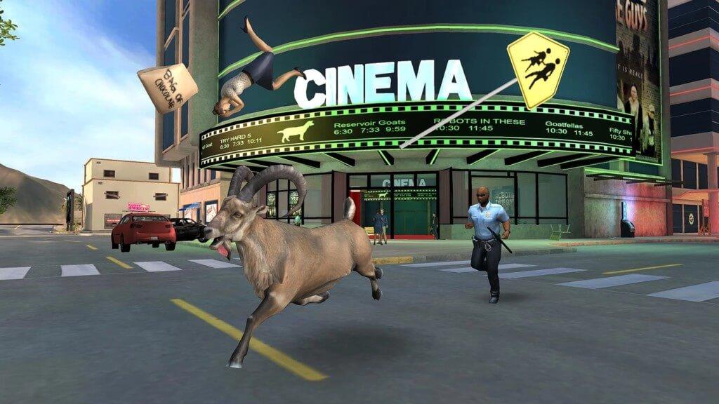 Механика игры Goat Simulator Payday
