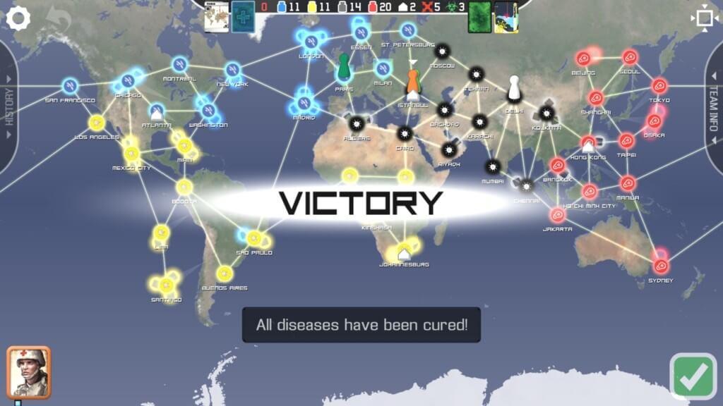Механика игры Pandemic The Board Game