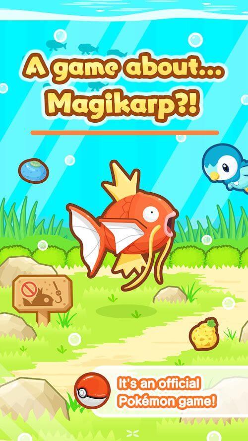 Подробнее про игру Pokemon Magikarp Jump