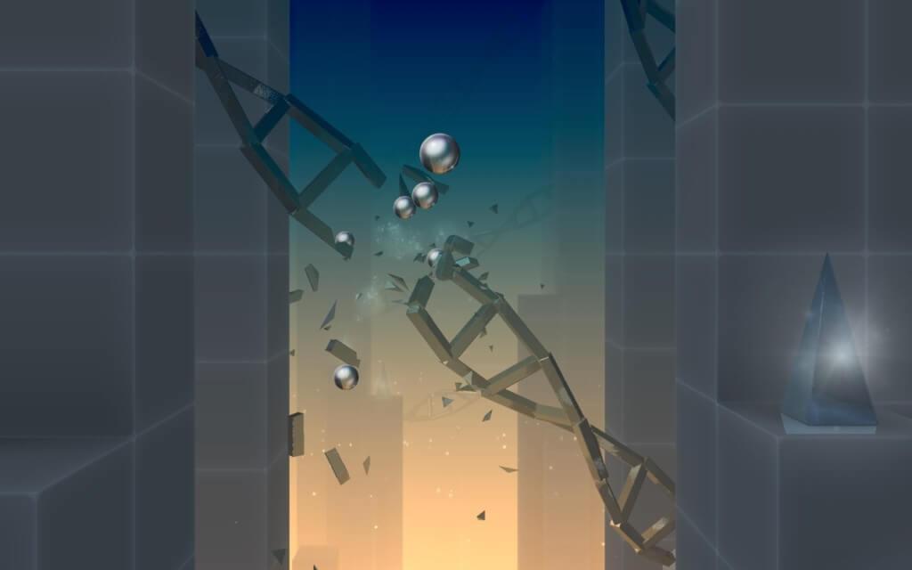 Механика игры Smash Hit на андроид