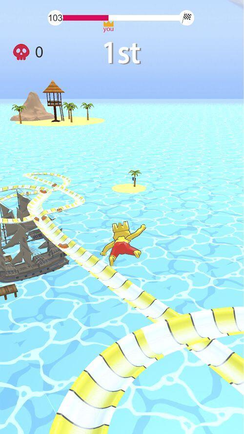 Суть игры aquapark.io