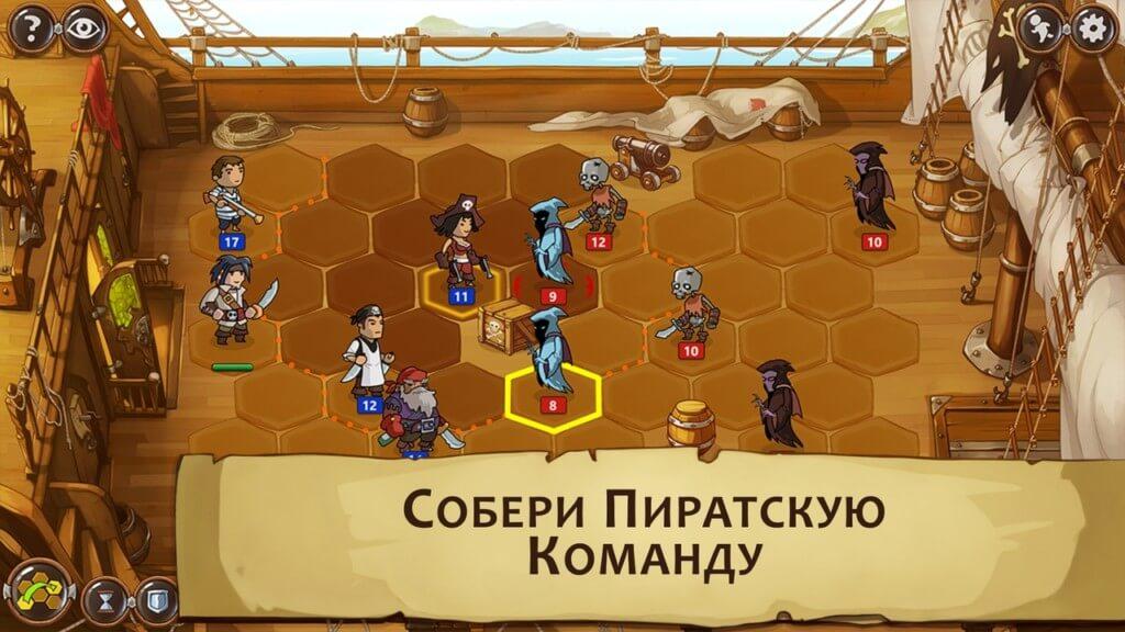 Механика игры Braveland Pirate