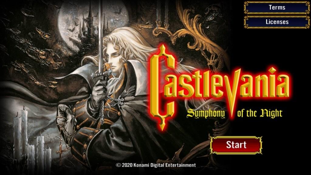 История игры Castlevania Symphony of the Night