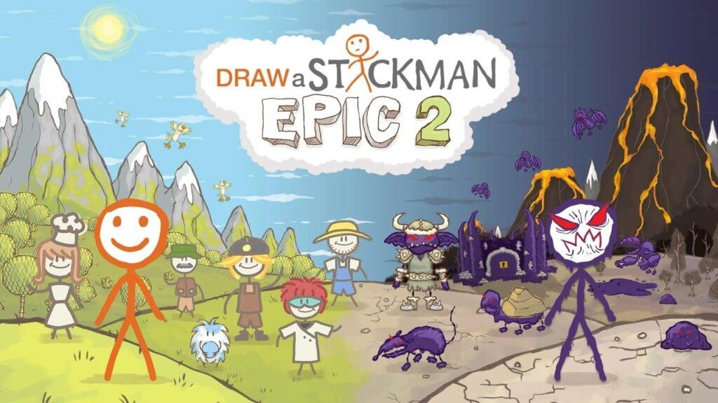 Сюжет игры Draw a Stickman EPIC 2